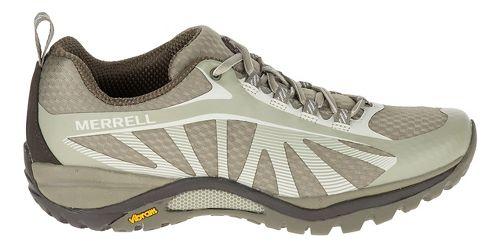 Womens Merrell Siren Edge Trail Running Shoe - Faience/Aluminum 9