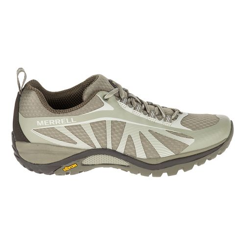 Womens Merrell Siren Edge Trail Running Shoe - Faience/Aluminum 9.5