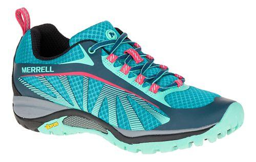 Womens Merrell Siren Edge Trail Running Shoe - Blue 6.5