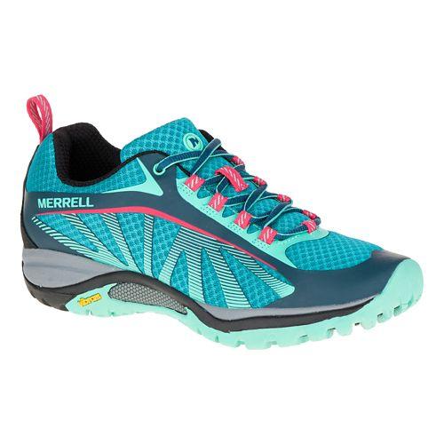 Womens Merrell Siren Edge Trail Running Shoe - Blue 10.5