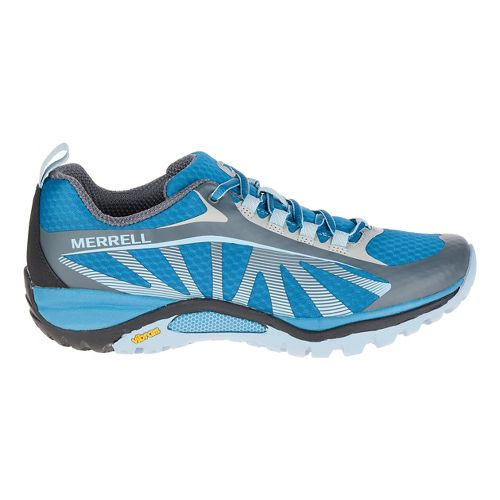 Womens Merrell Siren Edge Trail Running Shoe - Faience/Forget me not 9.5