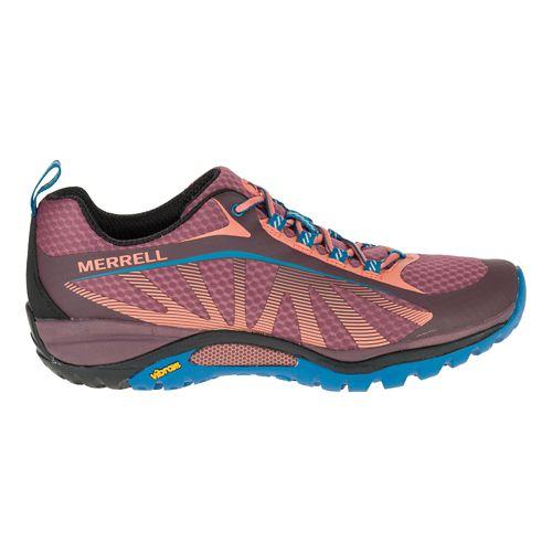Womens Merrell Siren Edge Trail Running Shoe - Hawthorne Rose 7.5