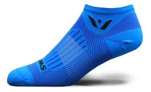 Swiftwick Zero Aspire No Show Socks - Fusion Blue M