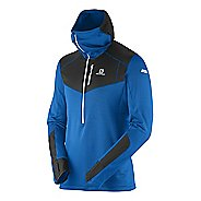 Mens Salomon S-Lab X ALP Midlayer Warm Up Hooded Jackets