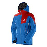 Mens Salomon Soulquest BC GTX 3L Warm Up Hooded Jackets