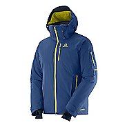 Mens Salomon Whitemount GTXF Warm Up Hooded Jackets