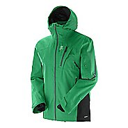 Mens Salomon Foresight 3L Warm Up Hooded Jackets