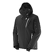 Mens Salomon Iceglory Warm Up Hooded Jackets