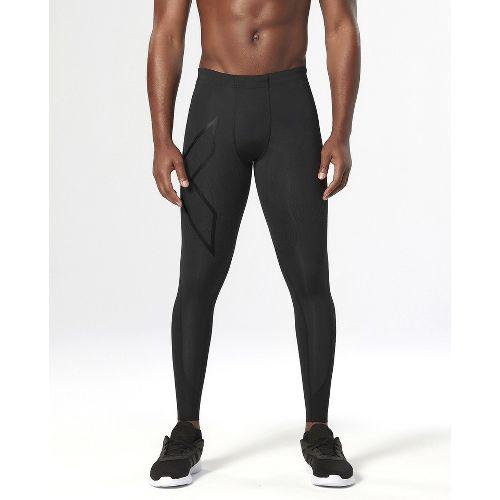 Mens 2XU Elite MCS Thermal Compression Tights & Leggings - Black/Nero S-T