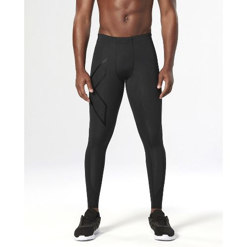 Mens 2XU Elite MCS Thermal Compression Full Length Tights - Black/Nero XL