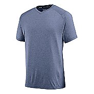 Mens Saucony Velocity V-Neck Short Sleeve Technical Tops