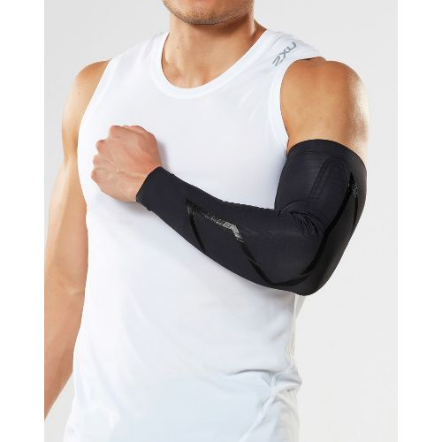 2XU Elite MCS Compression Arm Guards Injury Recovery - Black/Nero XL