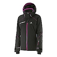 Womens Salomon Speed Warm Up Hooded Jackets