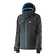Womens Salomon Speed + Warm Up Hooded Jackets