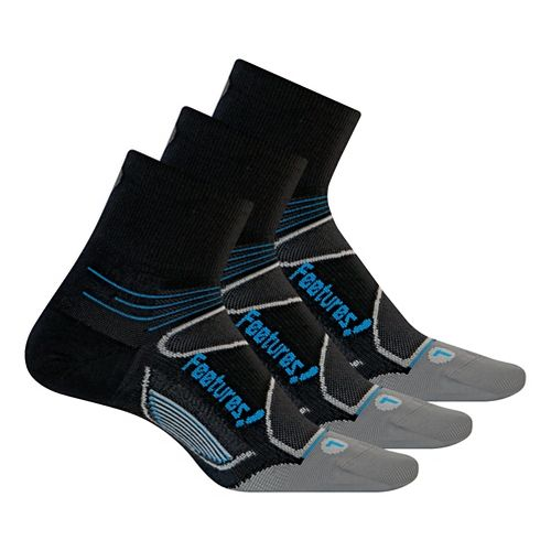 Feetures�Elite Ultra Light Quarter 3 pack