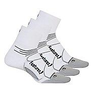 Feetures Elite Ultra Light Quarter 3 pack Socks