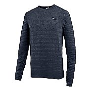 Mens Saucony Dash Seamless Long Sleeve Technical Tops