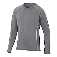 Mens 2XU Hyoptik Long Sleeve Technical Tops