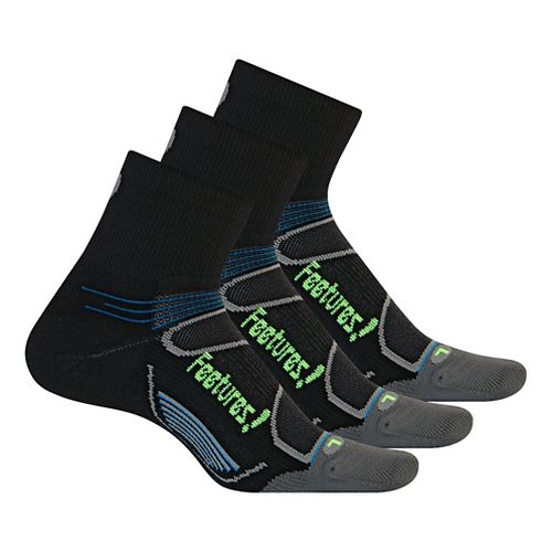 Feetures�Elite Light Cushion Quarter 3 pack