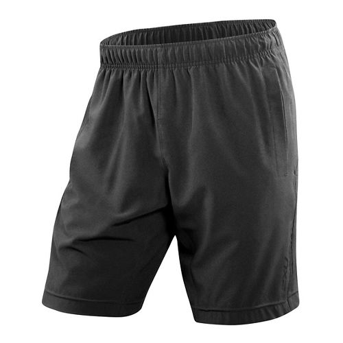 Mens 2XU Balance Lined Shorts - Black/Black XL