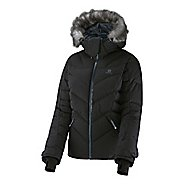 Womens Salomon Icetown Warm Up Hooded Jackets