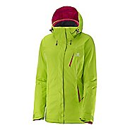 Womens Salomon Enduro Warm Up Hooded Jackets