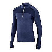 Mens 2XU Movement Engineered Zip Long Sleeve Technical Tops