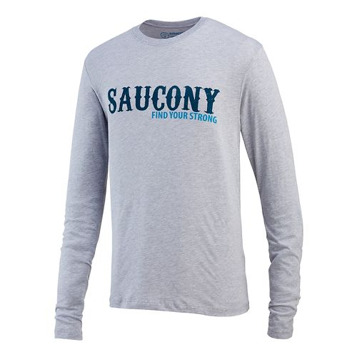 Men's Saucony�FYS Graphic Long Sleeve