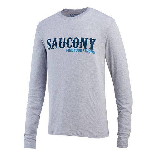 Men's Saucony�FYS Graphic Long Sleeve