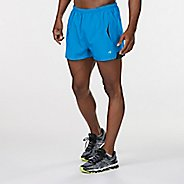 "Mens Road Runner Sports Mile Master 3"" Split Lined Shorts"