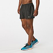 "Mens R-Gear Mile Master 3"" Printed Split Lined Shorts"