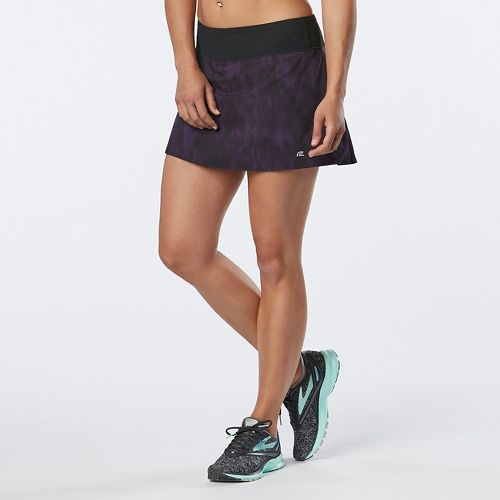 Womens R-Gear School 'Em Printed Skort Fitness Skirts - Let's Jam L