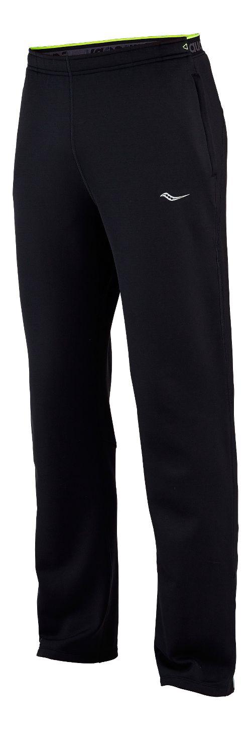 Mens Saucony Siberius Full Length Pants - Black L
