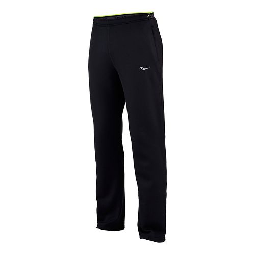 Mens Saucony Siberius Full Length Pants - Black L