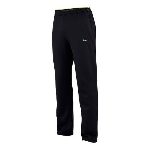 Mens Saucony Siberius Full Length Pants - Black XXL