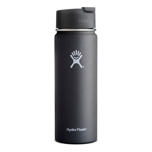 Hydro Flask 20 ounce Wide Mouth with Flip Cap Hydration - Black