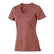 Womens 2XU Movement Tee Short Sleeve Technical Tops - Mars Red M