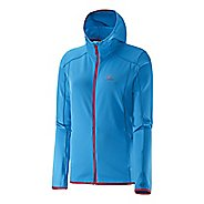 Womens Salomon Discovery Warm Up Hooded Jackets