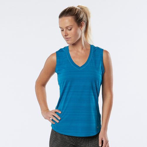 Womens R-Gear Finish First Sleeveless & Tank Technical Tops - Sea Glass XS