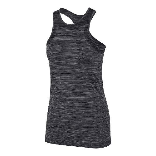 Womens 2XU Reformer Scuba Support Top Sleeveless & Tank Tops Technical Tops - Black/Moon Grey ...