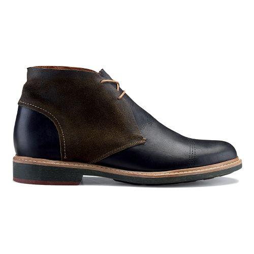 Mens OluKai Pahoa Casual Shoe - Black/Seal Brown 10