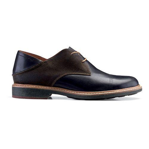 Mens OluKai Walino Casual Shoe - Black/Seal Brown 8