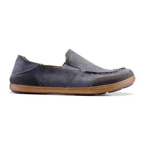 Mens OluKai Puhalu Casual Shoe - Charcoal/Dark Shadow 8.5