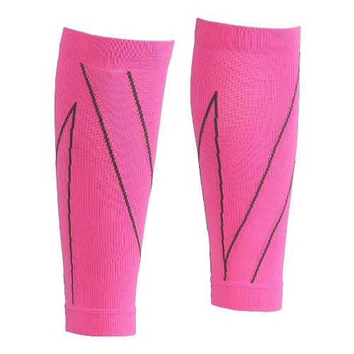 CW-X PerformX Calf Sleeves Injury Recovery - Pink/Charcoal M