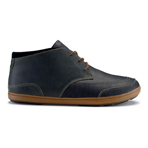 Mens OluKai Pala Casual Shoe - Dark Shadow/Black 10