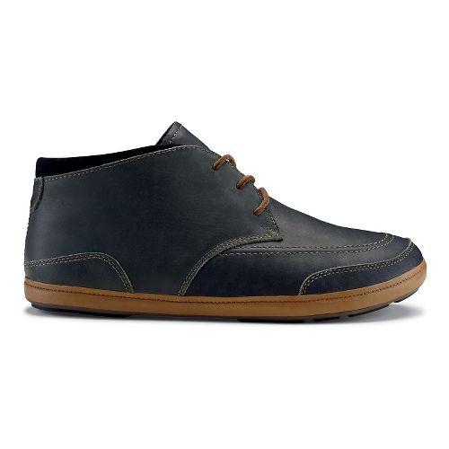Mens OluKai Pala Casual Shoe - Dark Shadow/Black 13