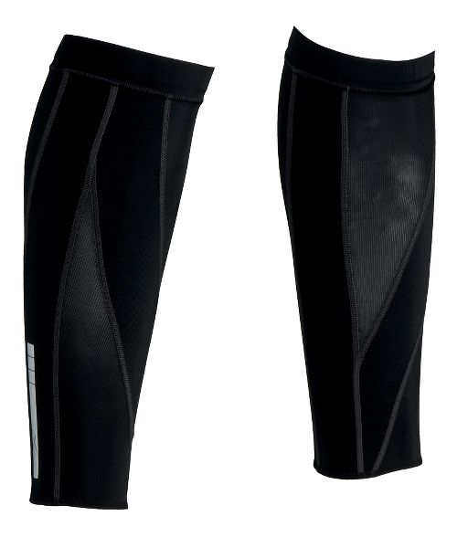 CW-X Stabilyx Calf Sleeves Injury Recovery - Black/Blue M