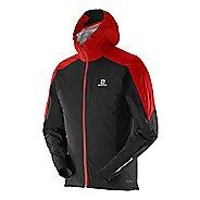 Mens Salomon Equipe WS Warm Up Hooded Jackets