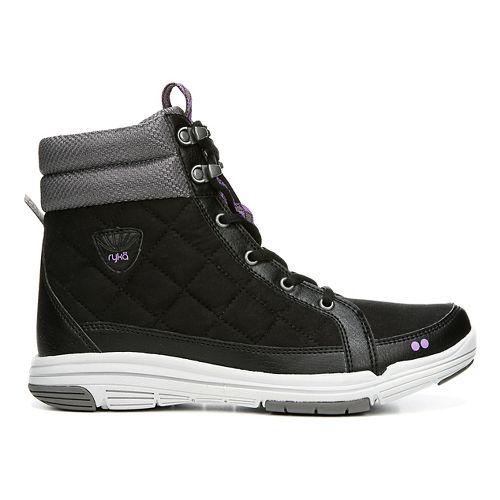 Womens Ryka Aurora Casual Shoe - Black/Grey 5