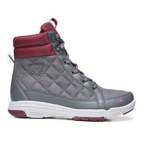 Womens Ryka Aurora Casual Shoe - Grey/Wine 8.5